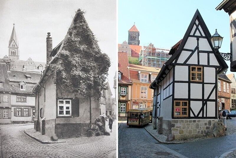 Кведлинбург, Германия, 1924 - 2020