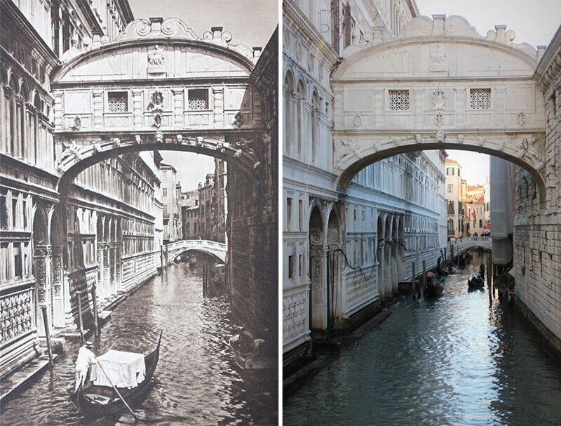 Венеция. мост вздохов, 1925 - 2018
