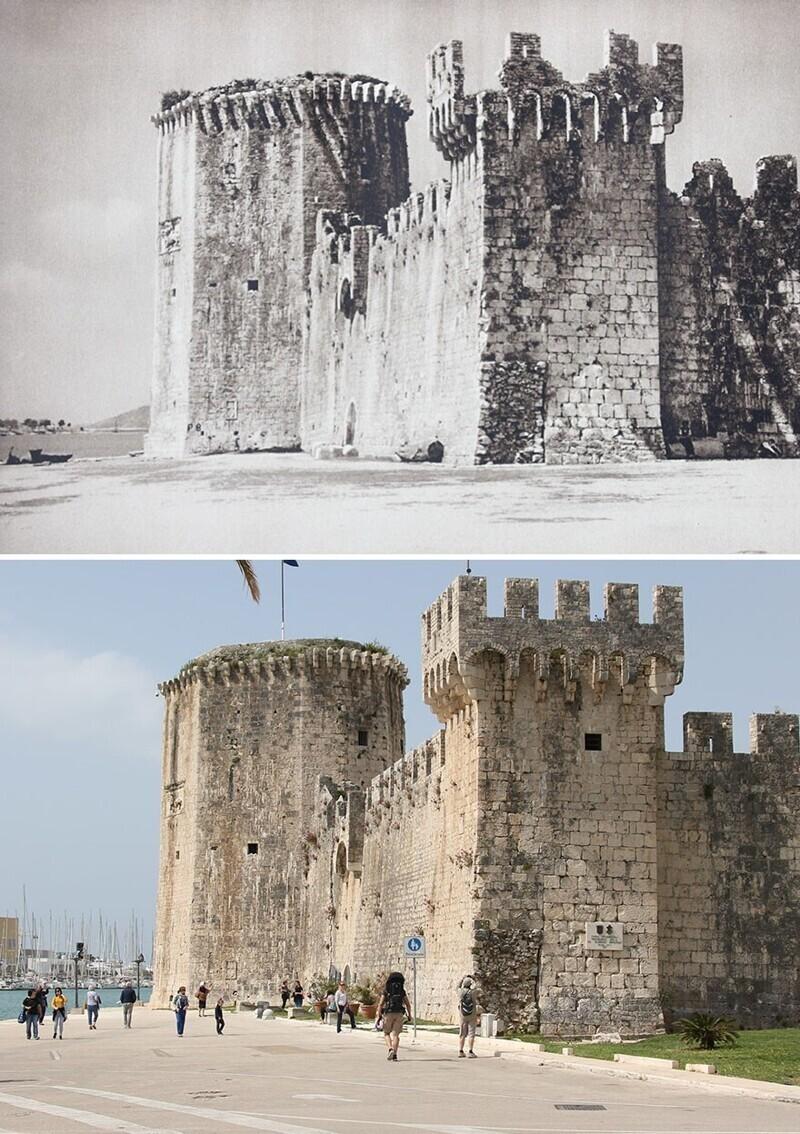 Замок Камерленго, Трогир, Хорватия, 1926 - 2019