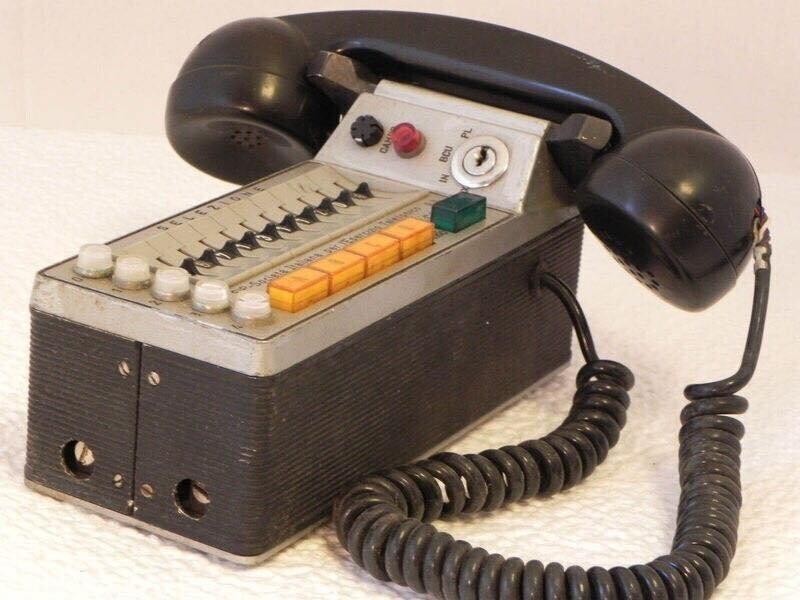 Автомобильный телефон Siemens 1970-е годы
