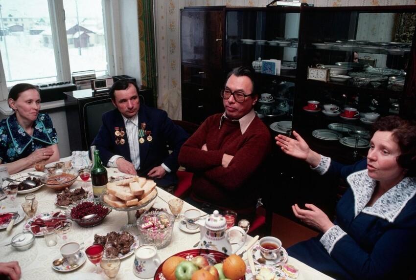 Фотообзор ощепита и домашних трапез позднего СССР