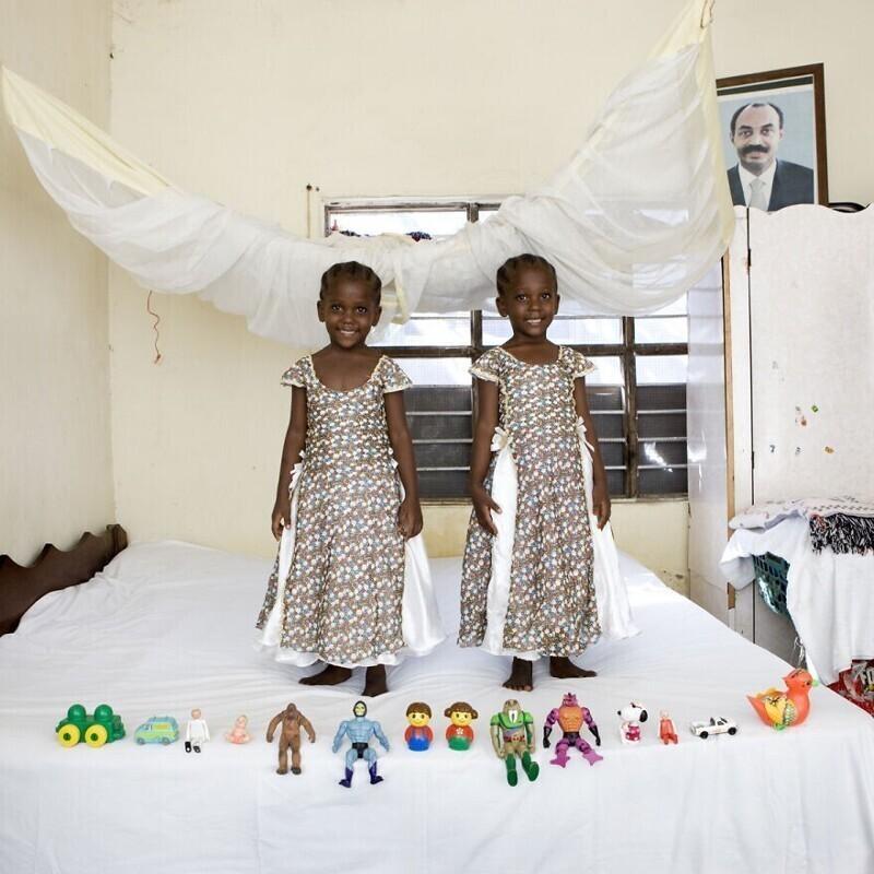 7. Араф и Аишa, 4 года, Бубубу, Занзибар