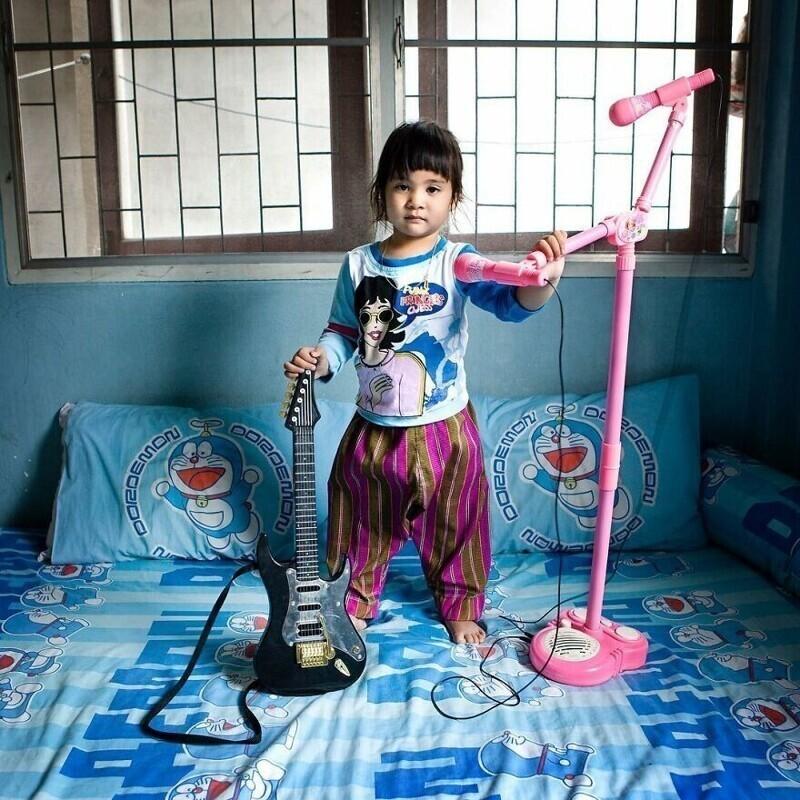9. Порджай, 3 года, Бангкок, Таиланд