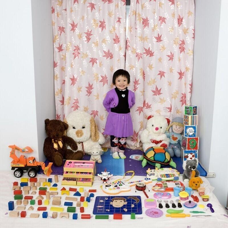 8. Ци Ю, 3 года, Чунцин, Китай