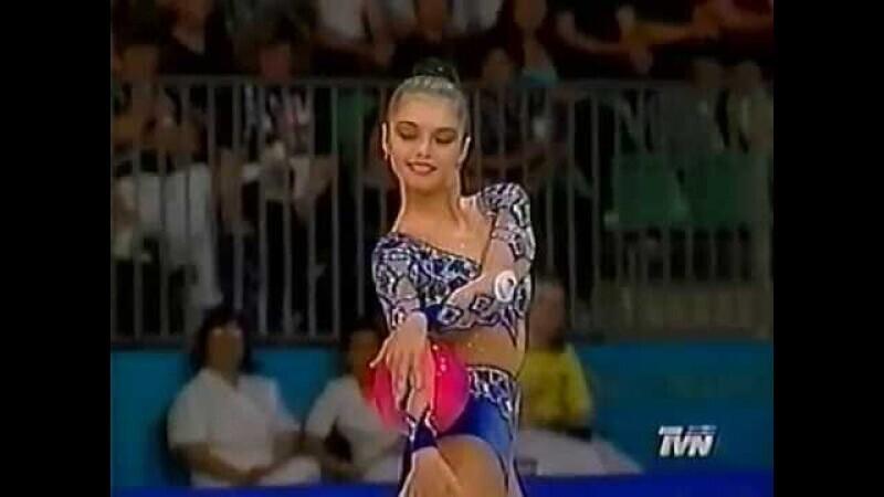Бронза Алины Кабаевой на Олимпиаде в Сиднее