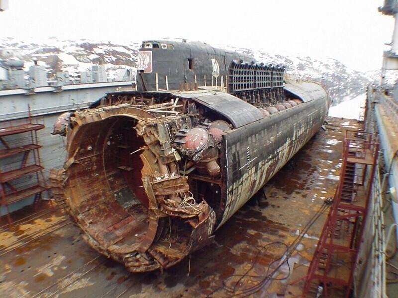Затонула подлодка «Курск»