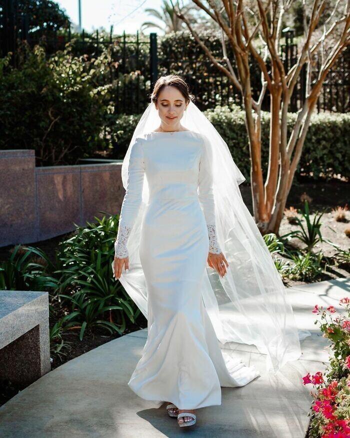 """""""Эта невеста сшила платье сама и выглядела в нем просто божественно"""""""