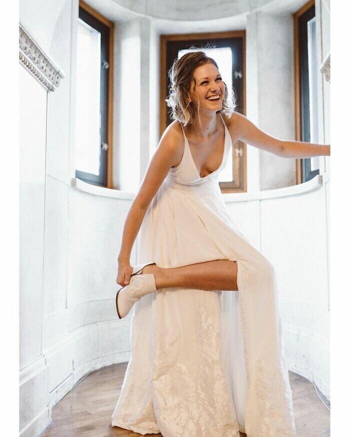"""""""У меня была мечта - самой сшить платье на свою свадьбу. И я это осуществила"""""""