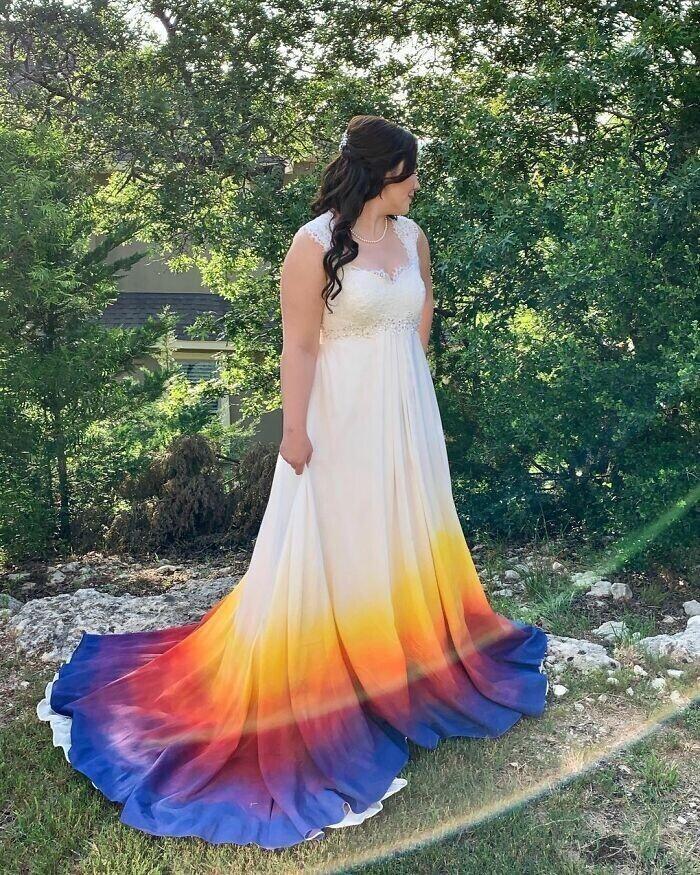 """""""Это платье - просто хит! И она сделала его сама, увидев картинку на Pinterest"""""""