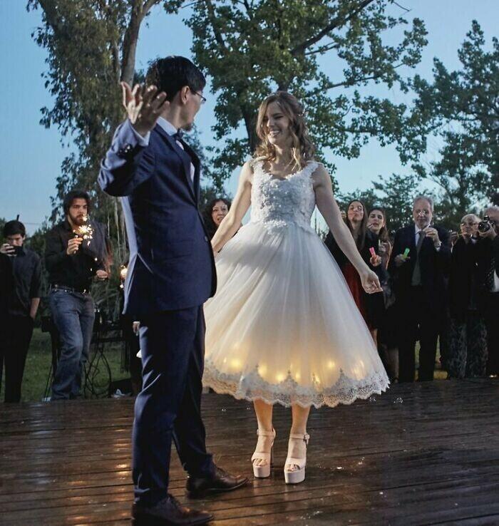 """""""Это мое свадебное платье, сшито самолично"""""""