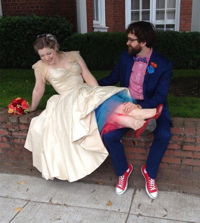 """""""Потратила на создание платья не меньше ста часов!"""""""