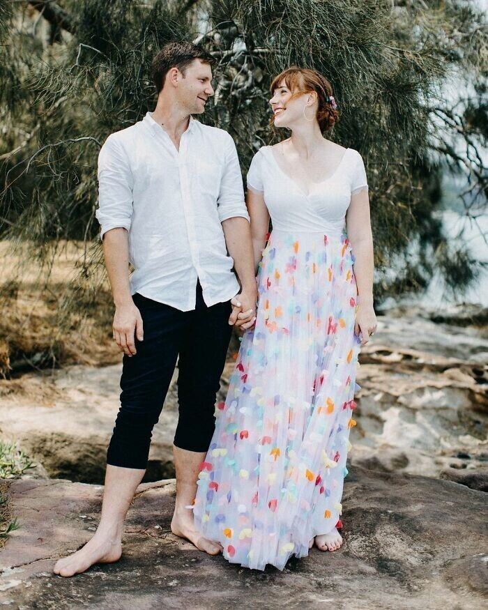 """""""Мое свадебное платье, обожаю его! Это лучшее, что я когда-либо делала!"""""""