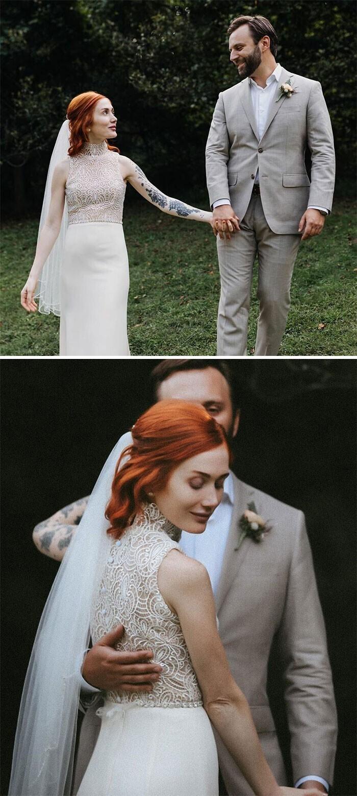 """""""Самодельное свадебное платье"""""""