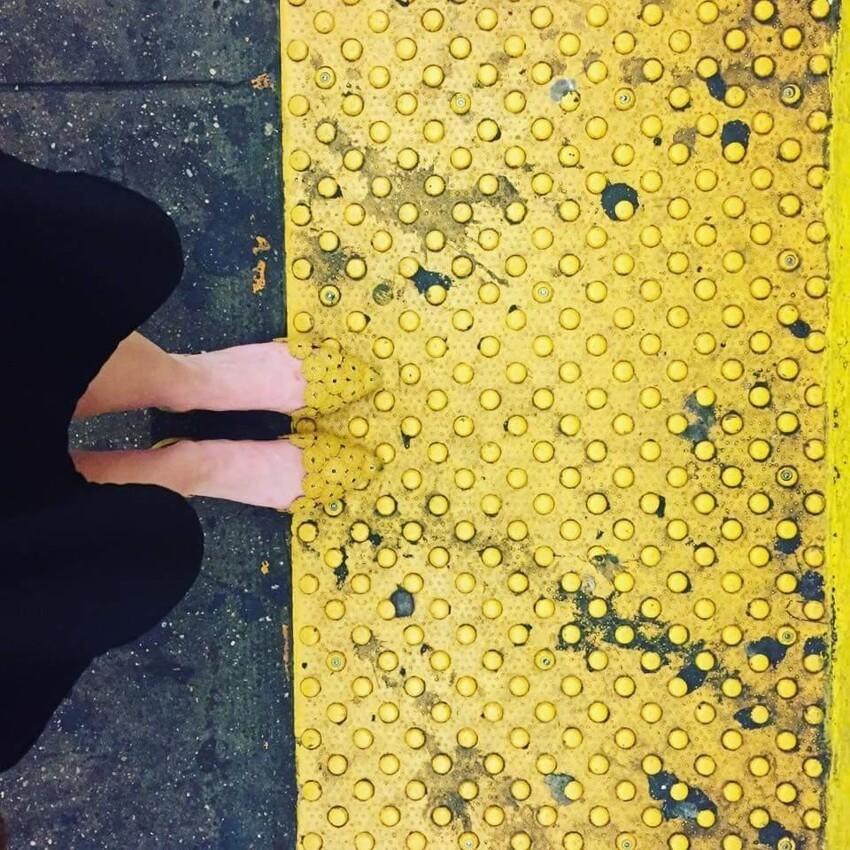 Наверное все ноги в метро отдавили