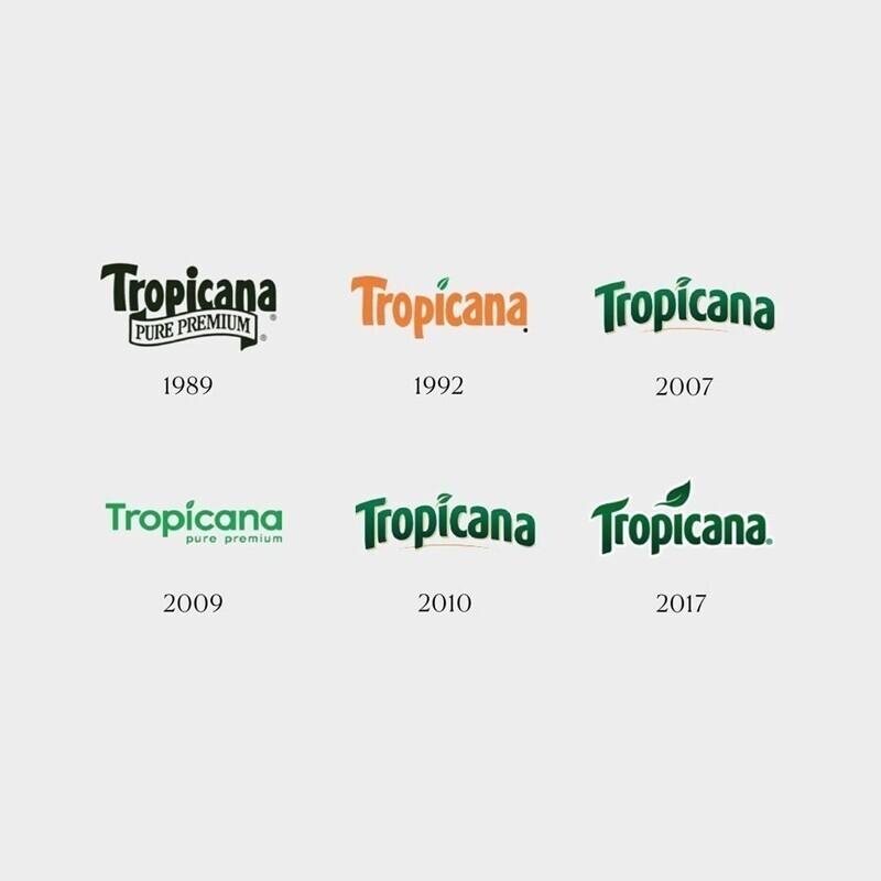 Как менялись всем известные логотипы и бренды