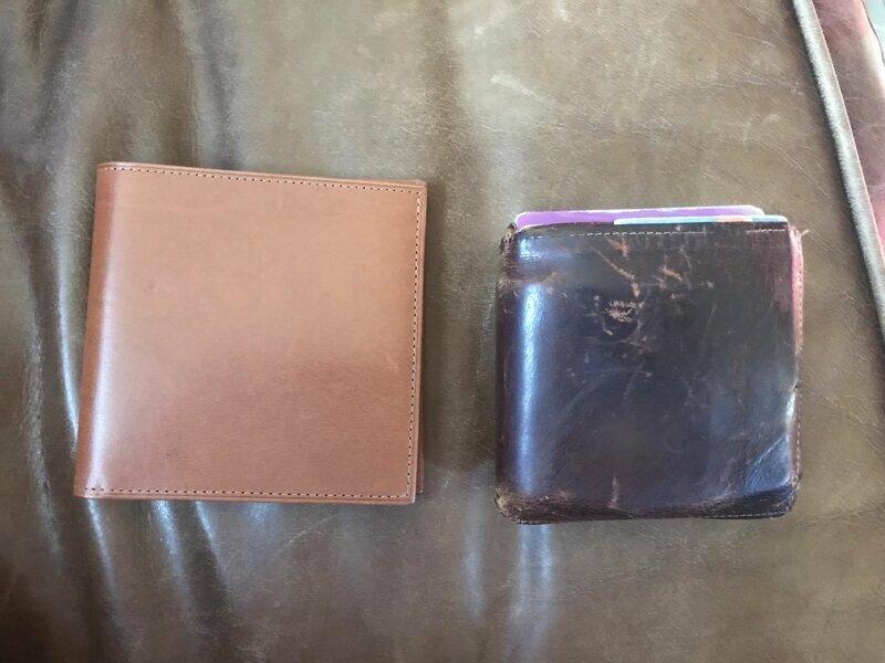 Папа купил новый кошелек спустя 25 лет