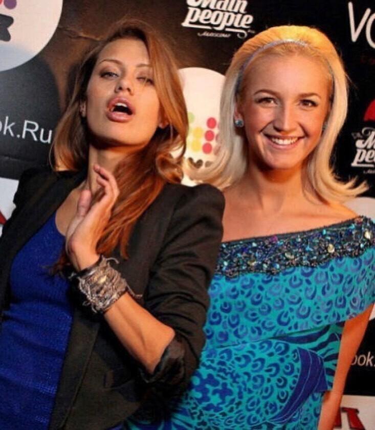 Ольга Бузова и Виктория Боня