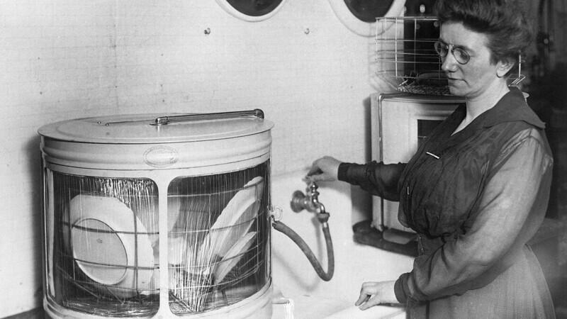 Джозефина Кокрейн и посудомоечная машина