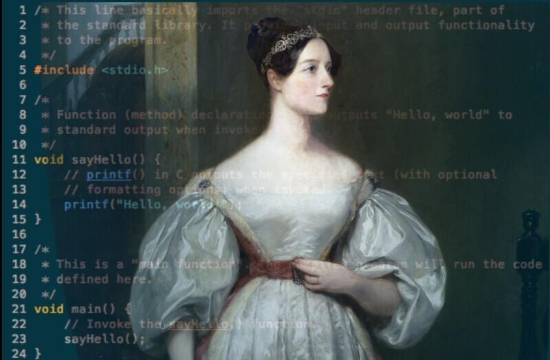 Ада Лавлейс и первый язык программирования