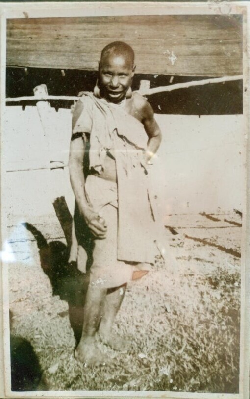 """Моя прабабушка. Примерно 1960 год"""