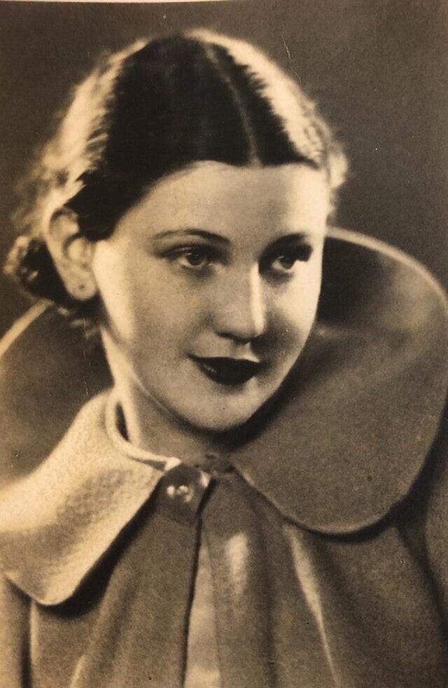 """""""Моя прабабушка в 20 лет (Чили, 1934 г.)"""""""