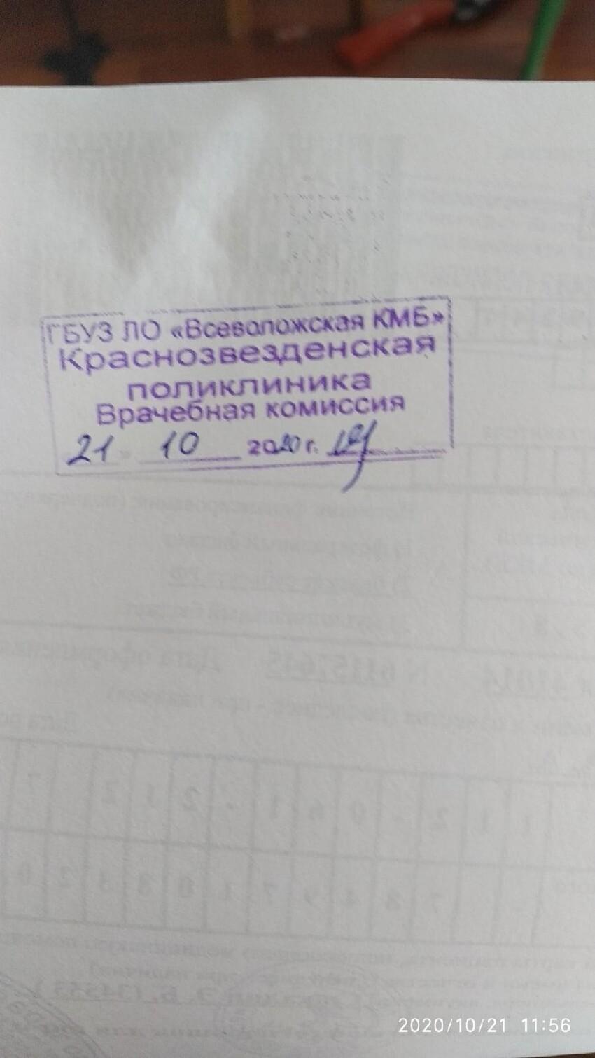 И лечатся в поликлинике Краснозвезденска