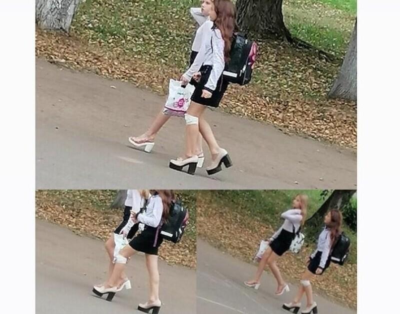 Модные тенденции влияют и на школьников: 3 класс, а уже на каблуках, почему родители одобряют?