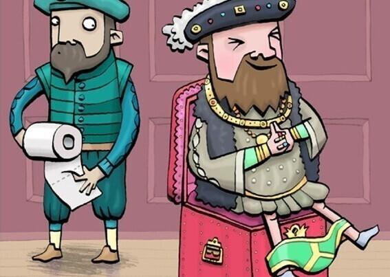 Туалетные странности британских королей
