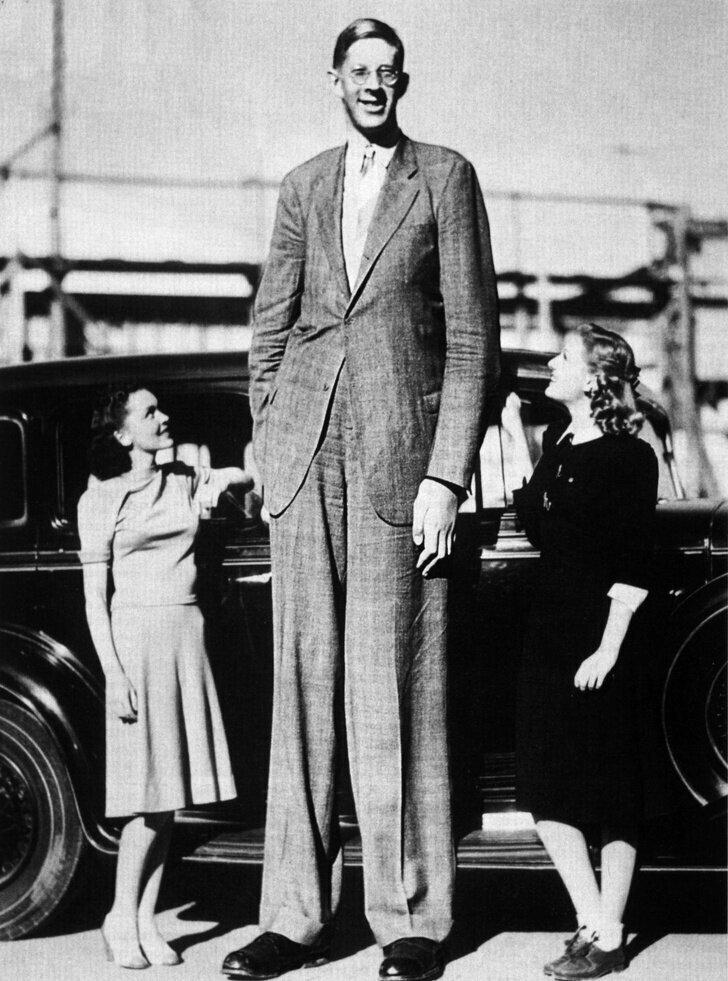 Рост этого человека был 272 сантиметра, вес – 199 килограмм