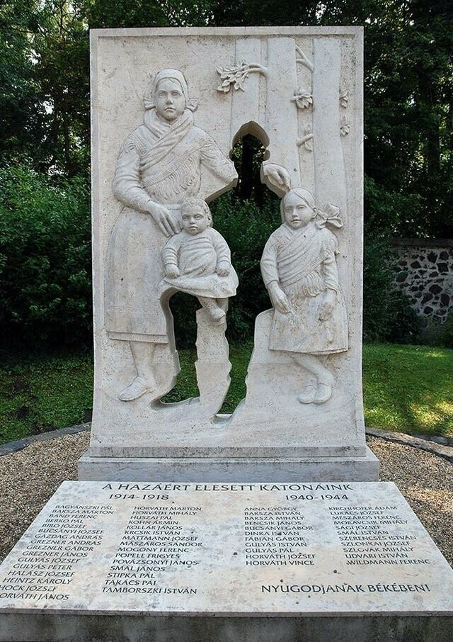 Памятник жертвам Первой мировой войны, Венгрия
