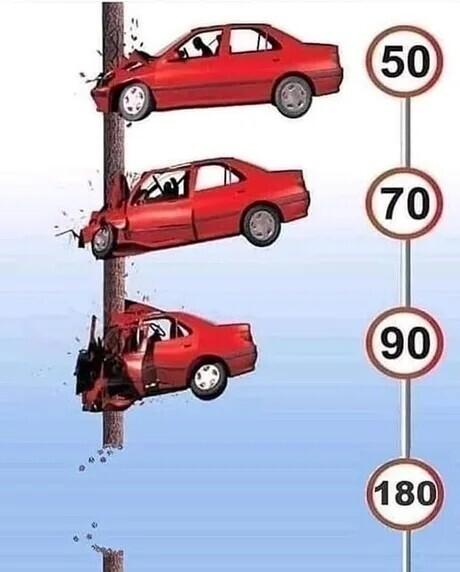 Как пролететь на машине сквозь столб. P.S. Машина не обязательно должна быть красной