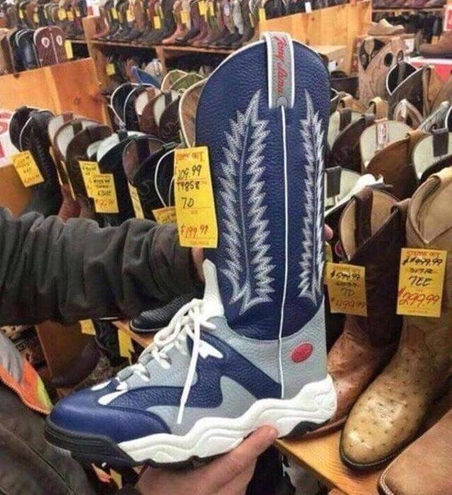 Для тех, кто ещё не определился какую купить обувь
