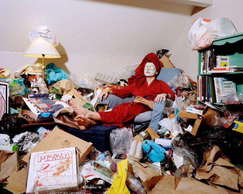 Невестка-блогерша развела жуткую жуть в квартире