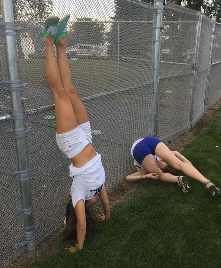 Девушки и спорт - это очень увлекательно