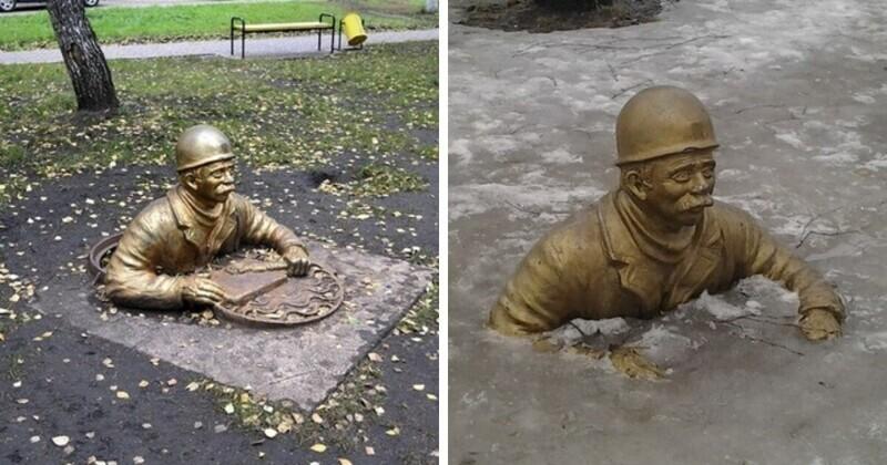 Памятник работникам ЖЭКа, Набережные Челны