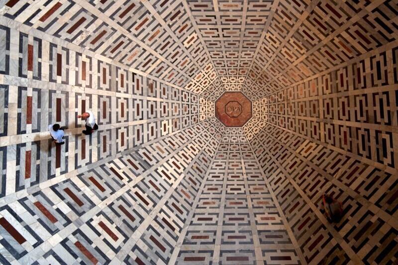 Пол флорентийского собора Санта-Мария-дель-Фьоре