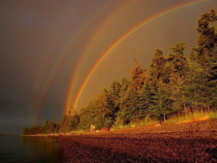 Четырехкратная радуга