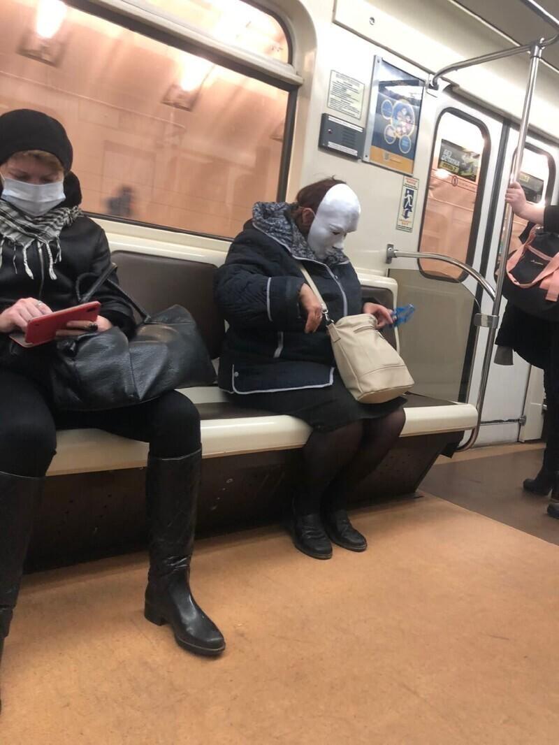 Если маски, то только такие
