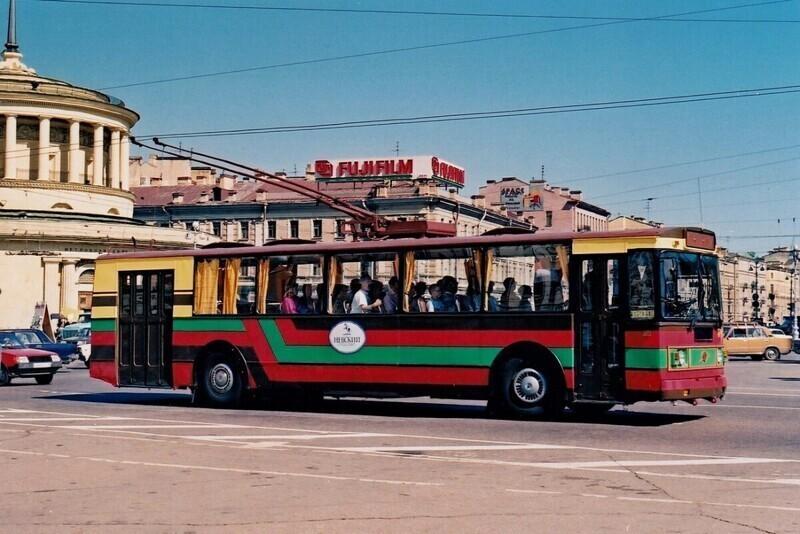Санкт-Петербург, площадь Восстания, 1996 год