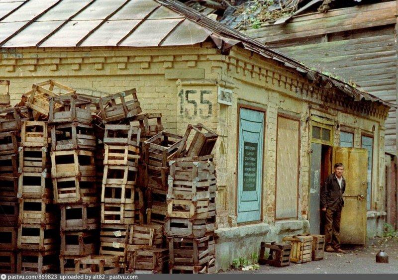 Нижний Новгород, улица Коминтерна, пункт приёма стеклотары