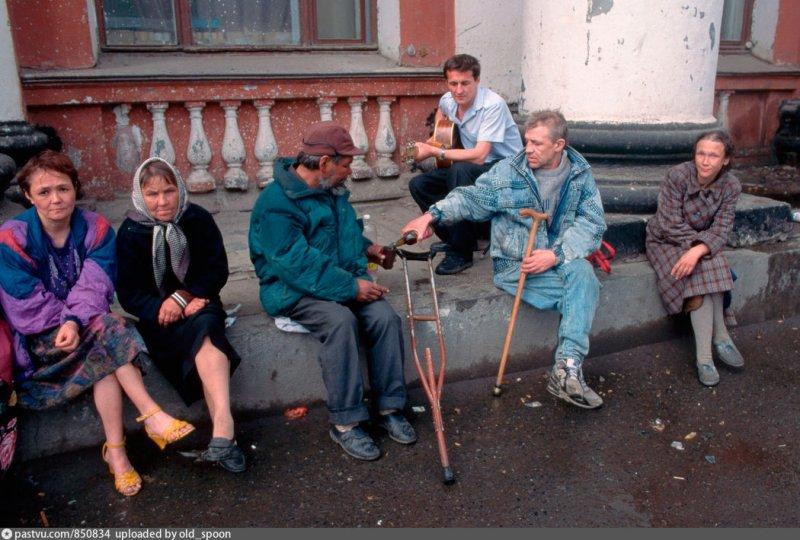 Бездомные на вокзале Екатеринбурга