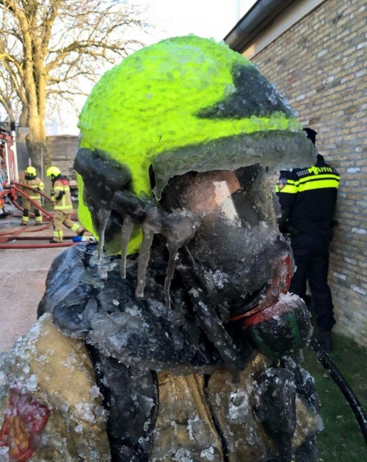 Пожарный в Нидерландах