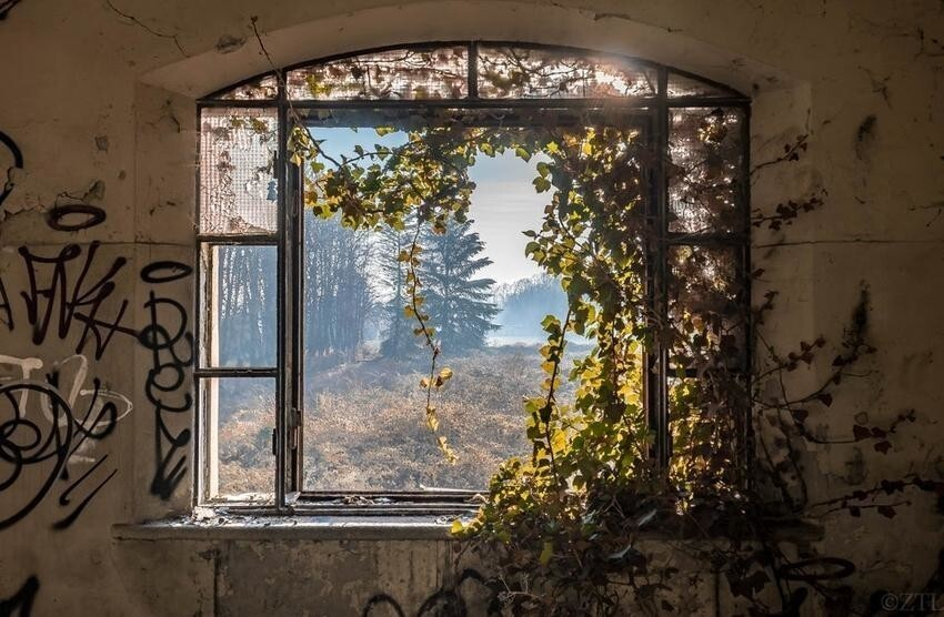 Заброшенный приют в Италии
