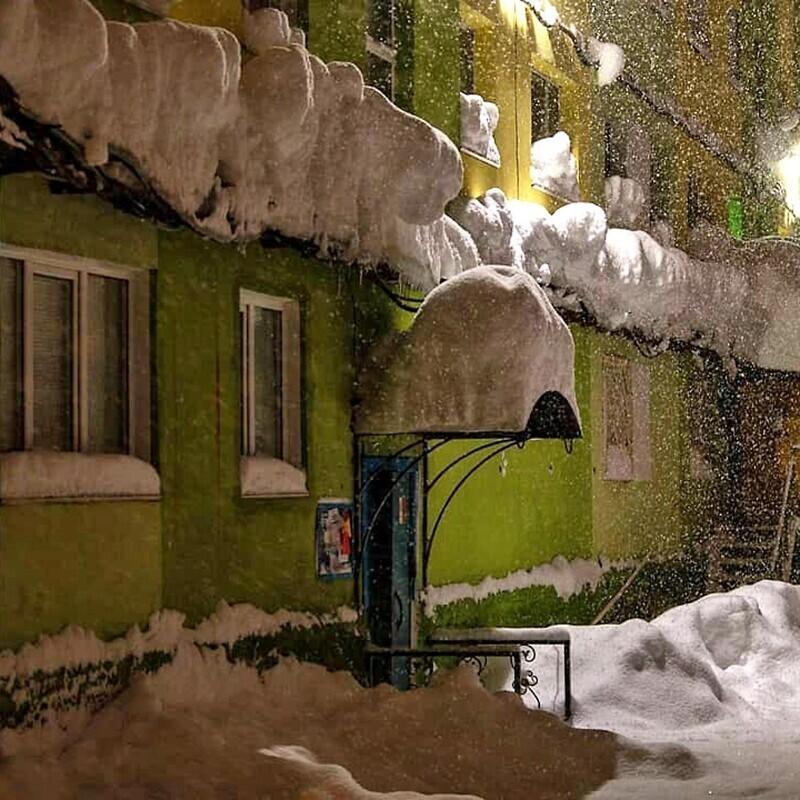 Горшочек, не вари: Норильск в снегу