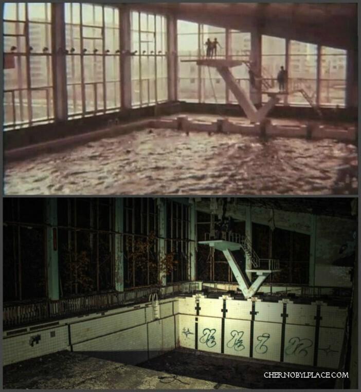 Чернобыль, 1984 и 2011