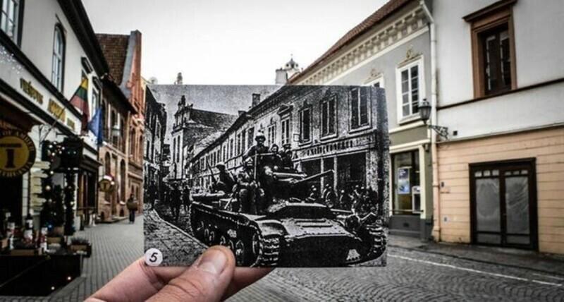 Вильнюс, 80 лет назад