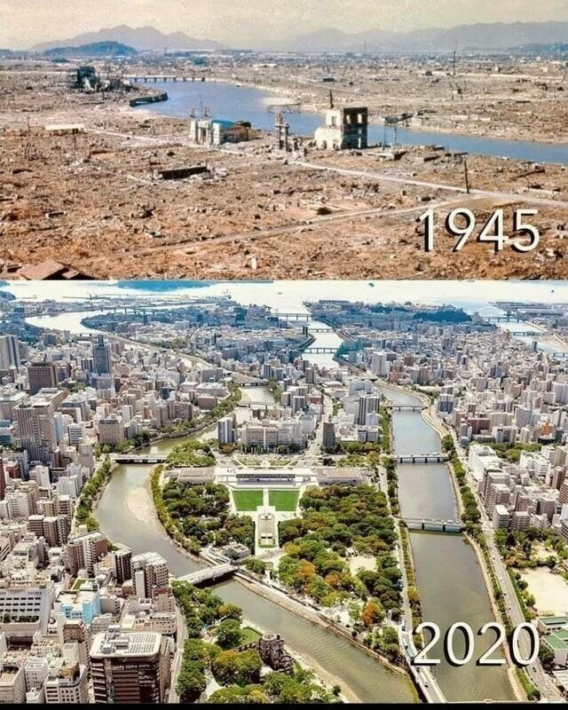 Хиросима, 1945 и 2020