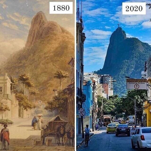 Рио-де-Жанейро, 1880 и 2020