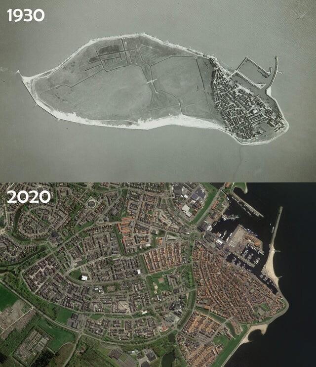 Бывший остров Урк, Нидерланды