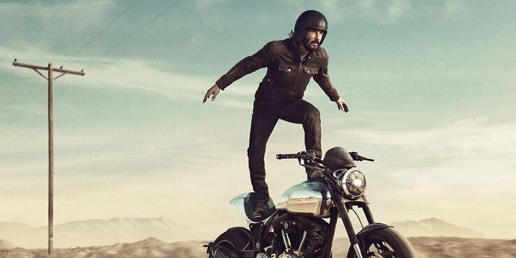 У Киану Ривза есть своя компания по выпуску мотоциклов